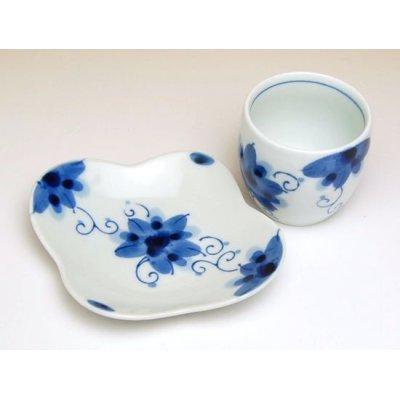 Photo3: Sakura-so Tea cup set  (5 cups & saucer)