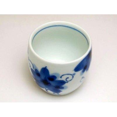 Photo2: Sakura-so Japanese green tea cup