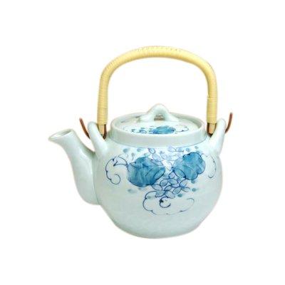 [Made in Japan] Kamakurabori Tsuta Teapot (6 gou)