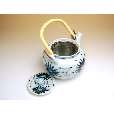 Photo2: Annan karakusa Teapot (10 gou)