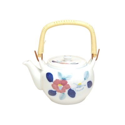 [Made in Japan] Icchin iroiri Sazanka Teapot(6 gou)