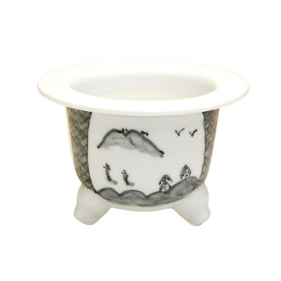 [Made in Japan] Jimon sansui Flowerpot (mini size)