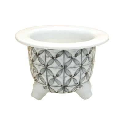 [Made in Japan] Shippou komon Flowerpot (mini size)