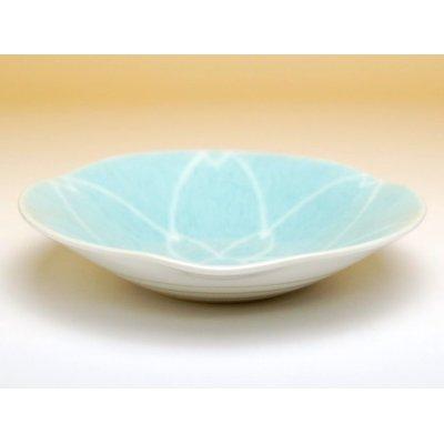 Photo2: Mizuiro yusai Medium plate (14.5cm)