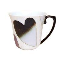 Heart (Black) mug