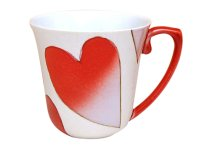 Heart (Red) mug