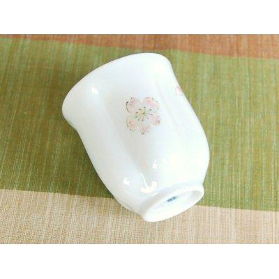 Photo5: Mai Sakura (Pink) Japanese green tea cup / SAKURA type(wooden box)