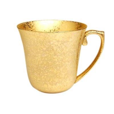[Made in Japan] Zipangu gold mug
