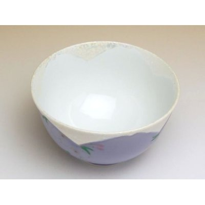 Photo3: Hanano mai Sakura (Purple) rice bowl