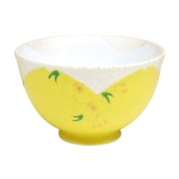 Hanano mai Sakura (Yellow) rice bowl