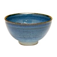 Ai blue Japanese green tea cup
