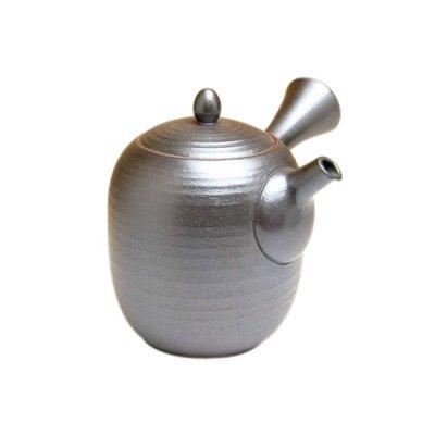 [Made in Japan] Yakishime kurofuki Teapot