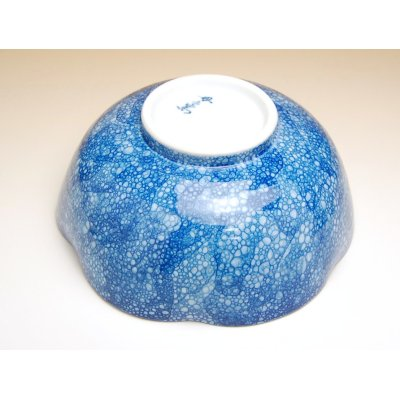 Photo3: Yuteki midare tokusa Large bowl (21cm)