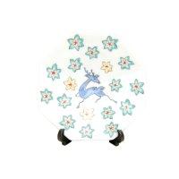 Iroe shika momiji-mon Small ornamental plate