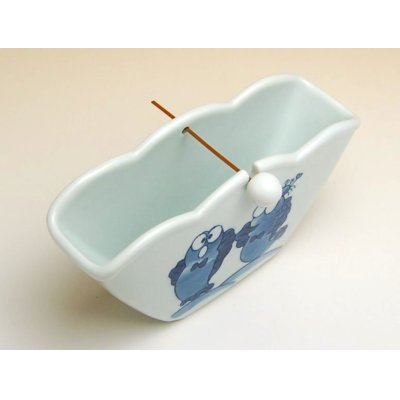 Photo2: Mutsugorou Mosquito-repellent incense stand