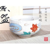 Nishiki tatsuta-kawa Tea bowl for tea ceremony