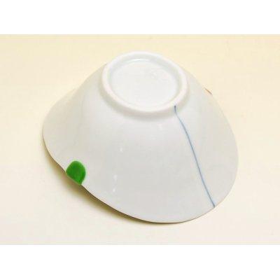 Photo4: Sanshoku futaba Small bowl (10.8cm)