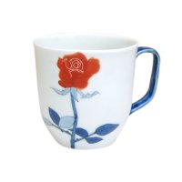 Bara rose (Red) mug