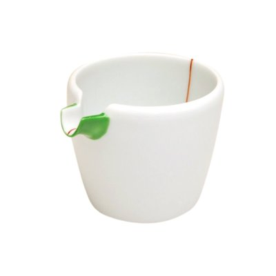 [Made in Japan] Midori-aka tokusa (Large) Lipped bowl