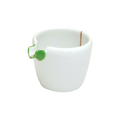 [Made in Japan] Midori-aka tokusa (Small) Lipped bowl