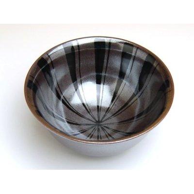 Photo2: Tenmoku tokusa rice bowl