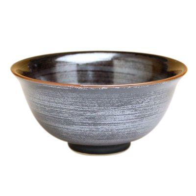 [Made in Japan] Tenmoku kasuri rice bowl