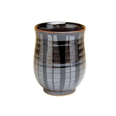 [Made in Japan] Tenmoku tokusa Japanese green tea cup