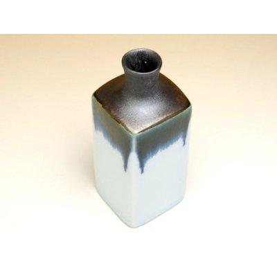 Photo2: Banri Sake bottle & cups set (wood box)