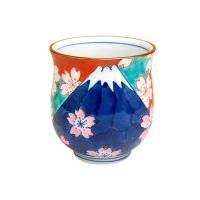 Nabeshima Mr.fuji Japanese green tea cup