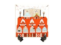 Hina matsuri Ornamental plate(a doll displayed at the Girls' Festival)