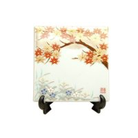 Momiji Small ornamental plate