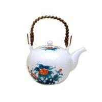 Ironabeshima iwabotan Teapot