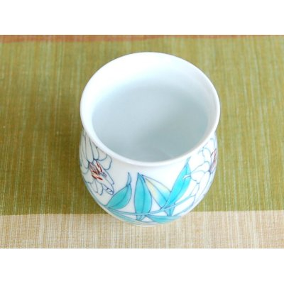 Photo4: Shiro Casablanca Japanese green tea cup (wooden box)