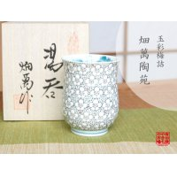 Gyokusai tamazume (Small) Japanese green tea cup (wooden box)
