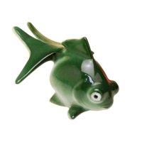 Hime demekin goldfish (Green) Ornament doll