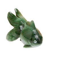 Hime kingyo goldfish (Green) Ornament doll