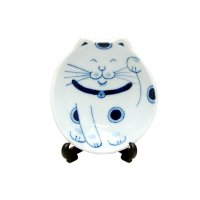 Suzu neko Small ornamental plate