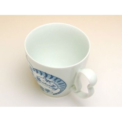 Photo3: Tora neko cats mug