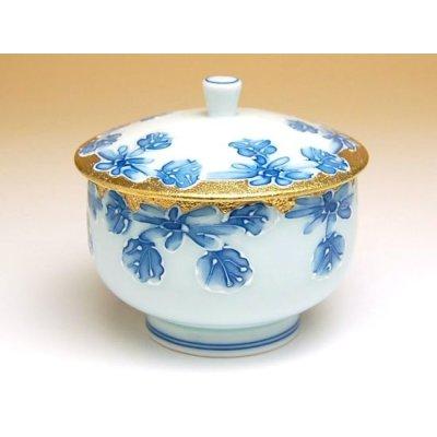 Photo3: Kindami icchin kiku Tea set (5 cups & 1 pot)