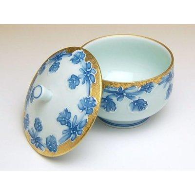 Photo4: Kindami icchin kiku Tea set (5 cups & 1 pot)