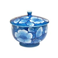 Kyou botan Japanese green tea cup