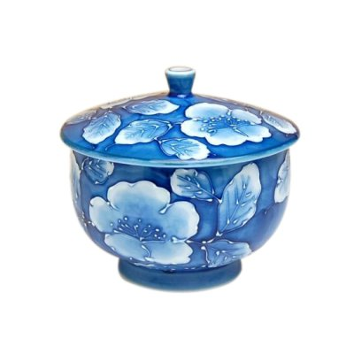 [Made in Japan] Kyou botan Japanese green tea cup