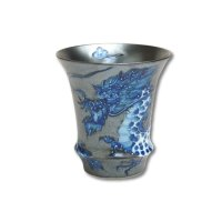 Koutei-ryu Dragon (Vertical) SAKE GLASS