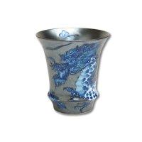 Koutei-ryu Dragon (Vertical) SAKE GLASS