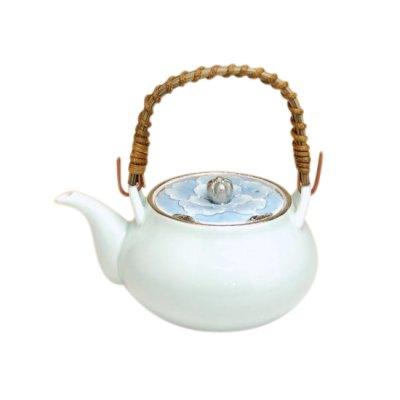 [Made in Japan] Platinum botan Teapot