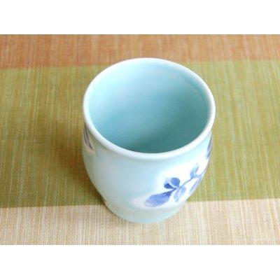 Photo4: Seiji Sazanka Japanese green tea cup (wooden box)