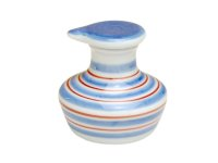 Komasuji (Blue) (mini) Soy sauce bottle