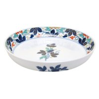 Somenishiki budou Large bowl (27.4cm)