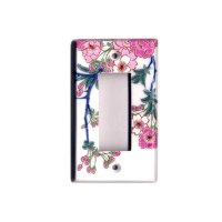 Somenishiki Kinsai Sakura (3 hole) plug socket cover