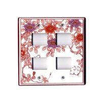 Nishiki tessen hanae (4 hole) plug socket cover